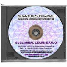 SUBLIMINAL LEARN BANJO- PLAYING SLEEP LEARNING AID