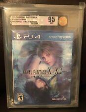Final Fantasy X 10 PS4 HD Remaster Brand New Sealed VGA Graded 95 Mint Gold!!
