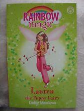 Rainbow Magic Book Pet Keeper Fairies Lauren The Puppy Fairy Brand New RRP £4.99