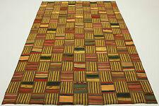 Orient Tapis Vintage Kelim Patchwork multicolore 240x160 Design Pièce unique