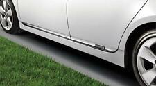 GENUINE TOYOTA OEM 2012-15 PRIUS CHROME SIDE DOOR LOWER MOLDINGS / PT29A-47120