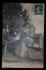 CPA 72 - La Sarthe - TENNIE - l'Église (Pur Roman Secondaire XIe et XIIe siècles