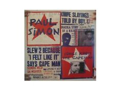 Paul Simon Poster 'Songs From The Capeman'  Two Sided And Garfunkel Art