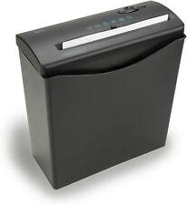 Royal Js55 Strip Cut 6 Sheet Home Office Paper Shredder With Wastebasket