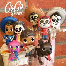 Disney Pixar film Coco lot de 8 figurines modèle Miguel Héctor très jolie jouets