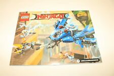 LEGO The Ninjago Movie Set 70614 - Instruction Manual Replacement Book ONLY