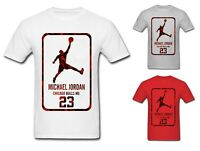 NEW Mens T-shirt Michael Air Legend 23 Jordan Men shirt Tops Graphic Tumblr