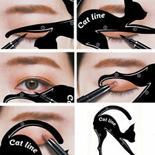 1 Pair Eyeliner Stencil Models Template Shaper Makeup Beauty Tools Cat Eye Line