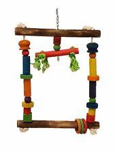 BIRD Toy Swing Wood chew Parrot