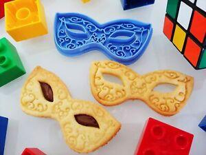 Formina biscotti Maschera Carnevale Romantica formine per biscotti cookie cut...