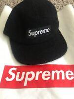 supreme camp hat black