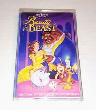 THE BEAUTY AND THE BEAST Original Motion Picture Soundtrack CASSETTE TAPE