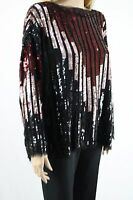 ASOS Women's Multi Women's Tunic Top with Chevron Embellishment UK SIZE 16 44