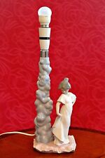 Vintage Nao/Lladro Porcelain Lamp, Spain