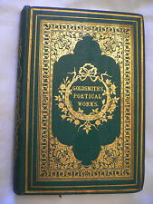 The Poetical Works of Oliver Goldsmith.1859.Complete Edition.