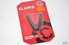 Paire de Patin de Freins Vélo VTT - CLARKS - CP501 75mm - pour V-Brake - NEUF