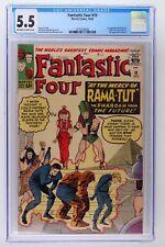 Fantastic Four #19 - Marvel 1963 CGC 5.5 1st Appearance of Rama-Tut!