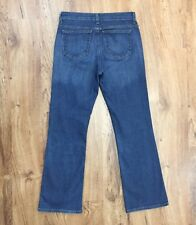 "DKNY SOHO Blue Jeans Boot Cut Stretch Denim Womens Size 4 S Waist 30"" Length 29"""