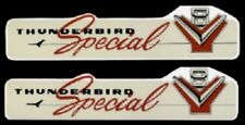 THUNDERBIRD 1956 & 1957 Special V8 312 Cu. In. Engine Valve Cover Decal Set
