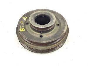 85-87 Prelude Si Pulley Engine Crank Harmonic Balancer Belt Lower Gear Used OEM