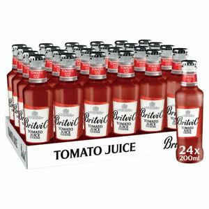Britvic Tomato Juice 24 x 200ml