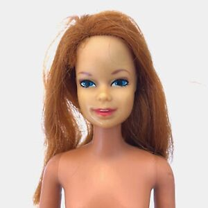 Vintage 1966 STACEY Stacie TNT Doll Twist N Turn Mattel Made in Japan RED Hair