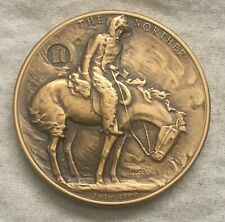 """MACO. Frederic Remington """"The Norther"""" Medal, 1971"""