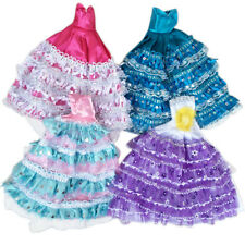 Fashion Baby Kid's Handmade Dresses & Clothes for Barbie Doll Randomly 1 pcs