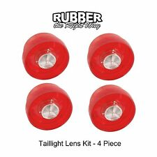 1958 1959 Ford Thunderbird Taillight Lenses 4 Piece Kit