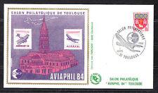 BLOC   CNEP   NUM.   5  Aviaphil   1984   sur enveloppe