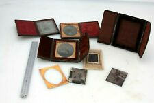 More details for lot antique victorian ambrotype photographs ambrotype/tintype,cased/framed