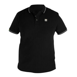 Preston Innovations Black Polo Shirt (All Sizes) *New 2021* - Free Delivery