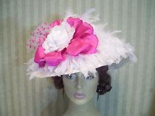 Kentucky Derby Hat, Wedding Hat, Victorian Hat, Tea Party Hat, Church Hat,