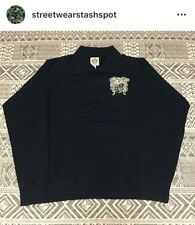 Billionaire Boys Club Collared Crest Sweater Size Large