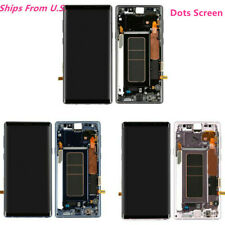 For Samsung Galaxy Note9 N960 LCD Display Touch Digitizer Screen Frame Glass dot
