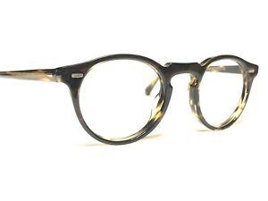 Oliver Peoples OV5186 1000 Gregory Peck Round Tortoise Rx Eyeglass Frames 45/23