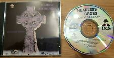 Black Sabbath Headless Cross, CD /1989/8 Songs/I.R.S. Metal/564-24 1005 2