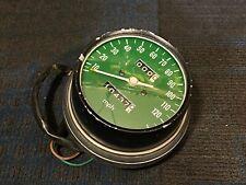 1976 CB550 Four CB550K Speedometer Speedo Gauge 120 mph Green Face