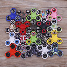 Wholesale Lot 20x Camouflage Solid color Fidget Hand Tri Spinner Desk Toy Finger