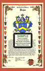 T's CELEBRATION Armorial Name History Coat of Arms Family Crest 11x17 CUSTOM HRC