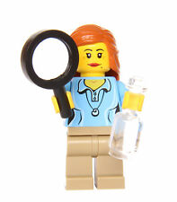 LEGO® Female Scientist #2 - From RARE set 21110 - with Accessories! Girl