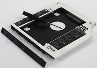 2nd Hard Drive HDD SSD Enclosure Optical bay Caddy for Dell Inspiron 5558 5559