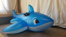 Very Rare Intex 2008 Inflatable Happy Shark Ride On
