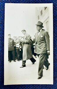 SPECTACULAR! JOE DIMAGGIO 1942 OPENING DAY SNAPSHOT DATED TYPE 1 PHOTO w/DETAILS
