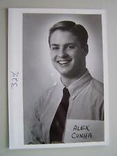Glossy Press Photo Lincoln Sudbury MA Swim Team Alex Cunha 1980-90's