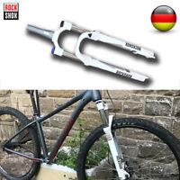 "RockShox XC30 MTB Fahrrad 27.5"" Federgabel Krone 100mm Federweg Konische Gabeln"