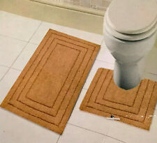 All For You 100% Cotton Tufted Bath Mat, Bathroom Rug *6 Colors* 1 or 2PC