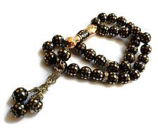 Misbaha Islamic Rosary Muslim Prayer Masbaha Tasbih Color Black Beads 8Mm Nice