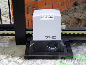 Faac 740 (DELTA 2) automatic opening kit for sliding gates with max weight 500kg