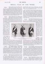 1901 Arundel Castle King Denmark Successors To Danish Throne